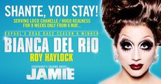 Bianca Del Rio & Faye Tozer join the cast. Eight week run from 6th May