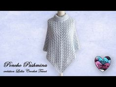 - YouTube Lidia Crochet Tricot, Crochet Hats, Couture, Boutique, Handmade, Fashion, Outfits, Shawl, Easy Crochet Shawl