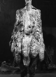 2014, mixed media, 270 x 60 x 45 cm (detail) Nicola Samori Paintings Sculptures  Plastic arts, visual arts, art
