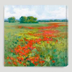 One of my favorite discoveries at WorldMarket.com: 'Red Poppies I' by Kim Coulter