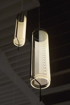 Guise lighting designed by Stefan Diez for Vibia