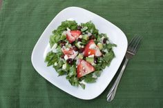 Strawberry Poppyseed Salad — When I was visiting my mother this spring, we had lunch at the Blue Owl in Kimmswick, MO.  The Blue Owl, which has been featured on a number of Food Network shows, is famous for the pies – more specifically their mile high apple pie.  Although I've never actually had it. When I was in