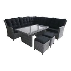product style sofa set number of seats 6 product material rattan_rod_weave outdoor garden furniturecorner