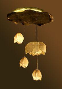 中式餐厅吊灯古典 装饰灯 灯饰 灯具 摆件 吊灯荷花-淘宝网