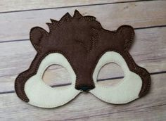 This listing is for 1 themed mask. This hand crafted mask is made from high quality felt and is very durable. Each mask has an elastic strap on the back of the mssk. Fete Halloween, Halloween Masks, Felt Mask, Alvin And The Chipmunks, Winter Festival, Costume Patterns, Mask Party, Diy Mask, Winter Theme