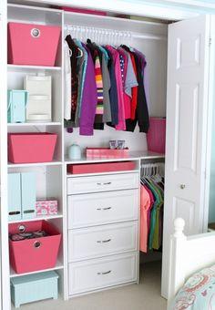 Small Reach-in Closet Organization Ideas – The Happy Housie