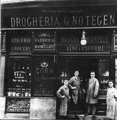 Roma Sparita - Via del Babuino - Drogheria Notegen