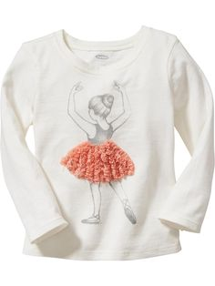 Ballet Graphic Tees for Baby Product Image Baby Ballet, Ballet Girls, Ballerina, Toddler Girl Outfits, Boy Outfits, Baby Girl Fashion, Kids Fashion, Unusual Baby Names, Dance It Out