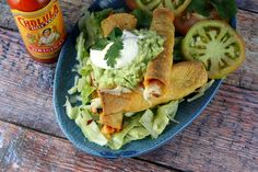 Baked Salmon Taquitos from Recipe Girl. I made them, dipped them in pico de gallo, and they were fabulous!