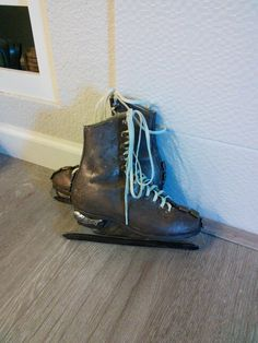 Steam Punk handmade girls reclaimed ice skates $29.