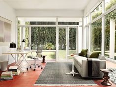 house office; nelson x-leg table