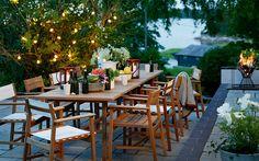 Garten beleuchten: Machen Sie die Nacht zum Tag