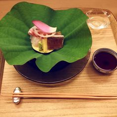 #Kaiseki at #KikuNoi - #sashimi course : #Tai #Swordfish by emmansim