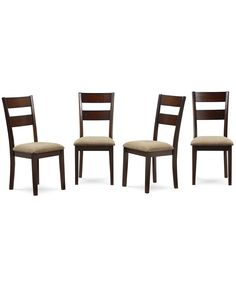 Branton 4-Pc. Side Chair Set - Furniture - Macy's
