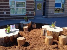 Outdoor learning environment #kindergarten #fdk