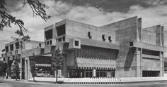 ARATA ISOZAKI, Oita Prefectural Library, 1966