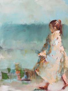 """Beach Towel"" Artist - Susie Pryor"