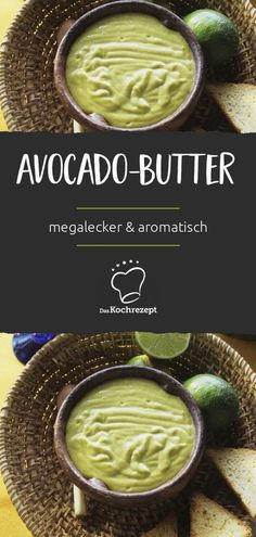 Brunch Recipes Herb butter is from yesterday, here comes the avocado butter! Megalecker and su … Avocado Toast, Avocado Juice, Avocado Butter, Avocado Dessert, Superfood, Brunch Recipes, Summer Recipes, Pesto, Baked French Toast Casserole