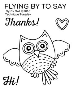Technique Tuesday - Fly By Owl