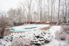 If you don't have a child safety fence surrounding your pool, there's a chance it's still incredibly unsafe during colder months.