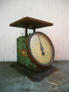 Prudential Family Scale  Industrial Rusty Metal by xxdustbunnyxx #vmteam