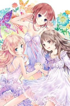 adorable, anime girl, and cool imageの画像 Anime Girl Cute, Beautiful Anime Girl, Anime Art Girl, Manga Girl, Anime Manga, Anime Girls, Anime Best Friends, Friend Anime, Anime Sisters