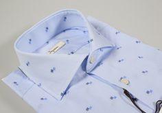 0416b10085048e Shirt ingram slim fit thousand lines cotton fil coupè. Collezione  InvernaleStrisce BluBlu ...