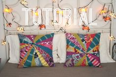 Miss Make: Quilted and Zippered Throw Pillow Tutorial