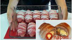 Delikátne plnené slaninové závitky: Symfónia chutí vhodná aj na slávnostný stôl! Pork, Cheese, Meat, Kale Stir Fry, Pigs, Pork Chops