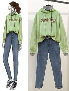 Casual Fall Outfits, Teen Fashion Outfits, Cool Outfits, Girl Fashion, Fashion Drawing Dresses, Fashion Dresses, Ulzzang Fashion, Korean Fashion, Fashion Design Sketches