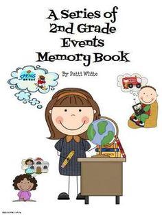 2nd Grade Memory Book.