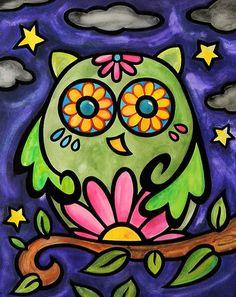 Green Owl