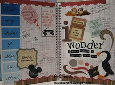 Smash Book Ideas   Mousekemom's Mouseworks