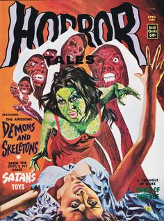 Cover for Horror Tales (Eerie Publications, 1969 series) #v6#2