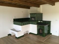 Kaliště Kitchen Stove, Stoves, New Homes, Architecture, Wood, House, Furniture, Home Decor, Houses