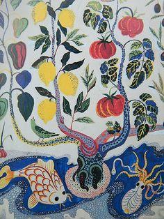 lively and bright and bold and memorable. Textile Patterns, Textile Design, Print Patterns, Textile Prints, Design Art, Josef Franck, Inspiration Artistique, Arte Popular, Motif Floral