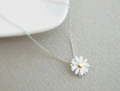 """""""Momma"""" loves this! Cute silver plated daisy flower pendant by janesshopinetsy… """"Momma"""" loves this! Cute silver plated daisy flower pendant by janesshopinetsy… Cute Jewelry, Jewelry Box, Jewelery, Jewelry Accessories, Jewelry Necklaces, Jewelry Design, Flower Jewelry, Gold Jewellery, Jewellery Shops"""