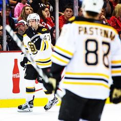 #NHLBruins win!! Torey Krug shows a determined look after firing in the OT-winner that lifted Boston to a 4-3 preseason win in Detroit. David Pastrnak had the helper.