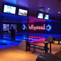 lucky strike bowling alley - Google Search