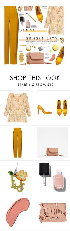 """""""Sense + Sensibility"""" by federica-m ❤ liked on Polyvore featuring The Great, Zara, ADAM, Christian Dior, Hedi Slimane, Chanel, NYX, NARS Cosmetics, Appetime and zara"""