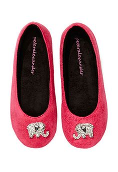 Ladies Elephant Couture Slippers, Peter Alexander