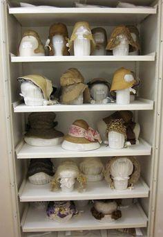 © Victoria and Albert Museum, London Moda Vintage, Vintage Hats, Art Handlers, Art Conservation, Museum Studies, Museum Displays, The V&a, Costume Shop, Museum Exhibition
