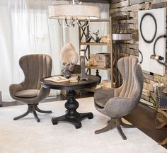 Uttermost pieces available through Gabriele BrandSource