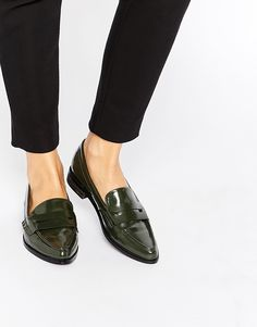 ASOS+MAGIC+TOUCH+Pointed+Flat+Shoes