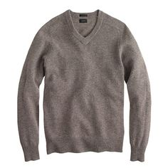 I really like this color? not sure if it works with pants - Slim lambswool V-neck sweater