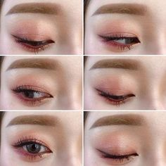 9 Korean Makeup Looks – My hair and beauty Korean Makeup Look, Korean Makeup Tips, Asian Eye Makeup, Korean Makeup Tutorials, Blue Eye Makeup, Makeup Eyeshadow, Blue Eyeshadow, Makeup Inspo, Makeup Trends