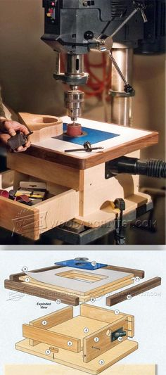 DIY Drill Press Sander - Sanding Tips, Jigs and Techniques | WoodArchivist.com