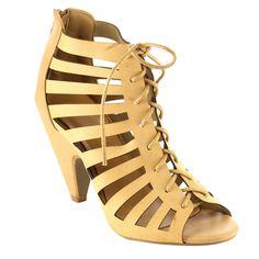 Mid Heel Gladiator Sandals