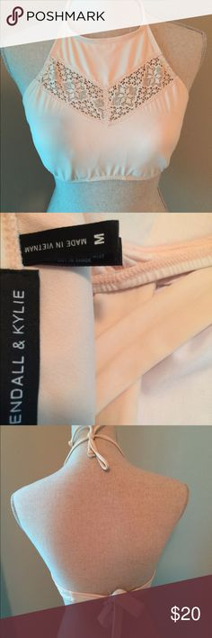 Kendall and Kylie Bikini Top Mint condition. Never worn. NWOT Kendall & Kylie Swim Bikinis