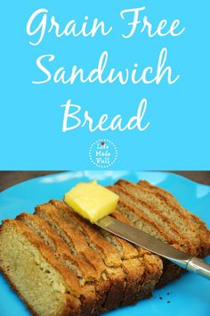 My grain free sandwich bread is an excellent remedy for those times when you want to throw together an almond butter and jelly sandwich!